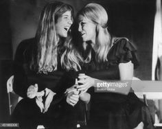 Caroline Kennedy with her Aunt Joan Bennett Kennedy. (Jackie and JFK were both very close to Joan, so it doesn't surprise me she and Caroline would have a close relationship too.)