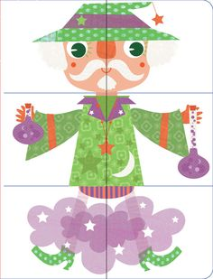 Muddle & Match Book for Boys and Girls by Stephanie Hinton, via Behance