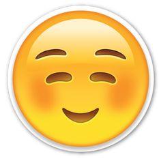 Shop White Smiling Face Emoji Sugar Cookie created by EmojiPrints. Emoji Stickers, Tumblr Stickers, Emoji Gratis, Emojis Png, Smiling Eyes, Emoji Faces, Cartoon Faces, Emoji Wallpaper, Harry Potter Facts
