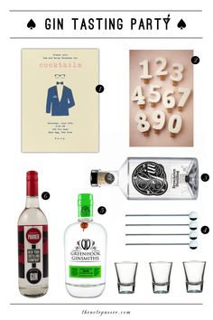 How To: Throw a Gin Tasting Part 1 — The Note Passer