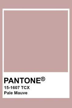 Pantone Pale Mauve