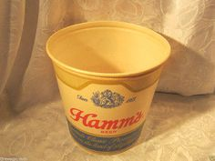 """Hamms 8.5"""" #bucket #vintage beer #breweriana ,  View more on the LINK: http://www.zeppy.io/product/gb/2/190882636827/"""