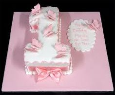 Themed birthday cake - 55 ideas year baby - baby girl birthday cake in the shape of a number 1 decorated with pink butterflies Girls First Birthday Cake, 7th Birthday Cakes, Birthday Ideas, Cake Images, Cake Pictures, Butterfly Birthday Cakes, London Cake, Baby Girl Cakes, Cake Baby