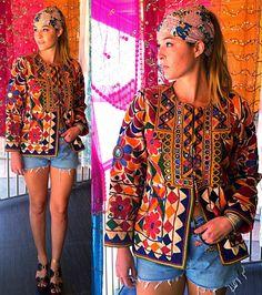 Vintage India Tribal Gypsy BANJARA Embroidered by ShannonMyIndi