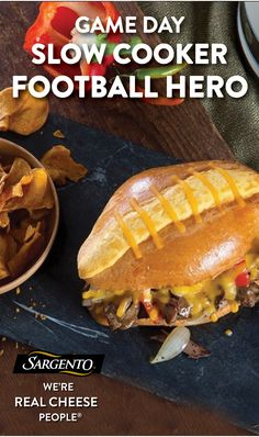 Promoted by Sargento®. This decadent sandwich is perfect for game days--for serving guests or eating alone while no one is looking. Just simmer sliced beef in a slow cooker, then serve on a toasty French roll and top with a generous amount of our shredded cheddar cheese. Visit our site for the full recipe.