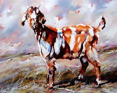Terry Kobus Hermanus Based South African Artist – This 'n That South African Artists, Homeland, Illustration Art, Illustrations, Moose Art, Goat, Animals, Originals, Flora