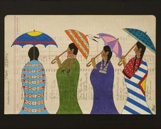 Growing in popularity, ledger art provides artistic, cultural outlet for Native American artists Norman Rockwell Art, Four Sisters, Native Design, Native American Artists, Southwest Art, Historical Images, Indigenous Art, Dancing In The Rain, Native Art
