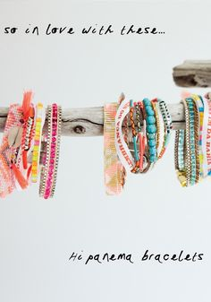 Ipanema bracelets BODIE and FOU★ Le Blog | Effortless chic | French Interiors | Inspiring Design