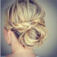 Soft pretty up do