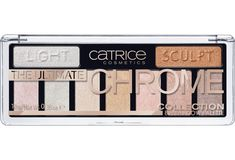 CATRICE The Ultimate Chrome Collection Eyeshadow Palette 010 Heights And Lights