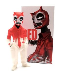 Red Demon from Luchadores Five