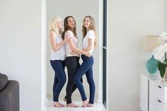 The Love Long Clothing range completely transcends all ages. The perfect skinny jean for every shape.