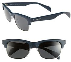 aed796e96d2 Prada 54mm Retro Sunglasses available at  Nordstrom Prada