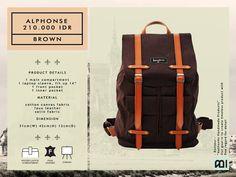 Bonjour yg hadir sekitar tahun 2011 telah memberi warna sendiri dalam industri fashion tas dalam negeri khususnya kota Bandung. Dengan desai...