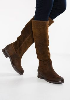 Pinto Di Blu Boots - marron for Free delivery for orders over Ankle Boots, Knee High Boots, Shoe Boots, Boots Marron, Mint And Berry, Brown Suede Boots, Pointed Heels, Block Heel Shoes, Beige