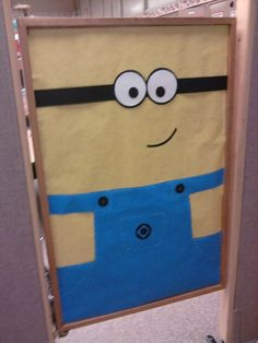 My school door I decorated as a minion :)