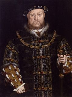 King Henry VIII of England -- 1534 -- Hans Holbein the Younger -- German -- Oil on panel -- Private Collection. Tudor History, British History, Art History, Asian History, History Facts, History Major, History Books, Cottage Tudor, Renaissance