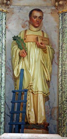 Santos, Beatos, Veneráveis e Servos de Deus: SÃO LOURENÇO, Diácono e Mártir. Um dos mais ilustr...