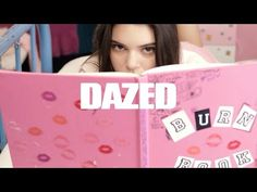 Kendall Jenner Mean Girls Parody - Kendall Jenner Responds To Haters With Mean Girls Burn Book - Seventeen