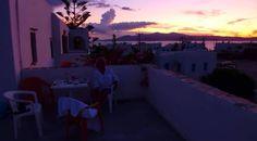 Sunset in Something Else Naxos!!! <3