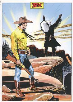 Póster Tex Nuova Ristampa 247 Jean Giraud, Old Comics, Anime Comics, Wolverine, Western Wild, Comic Art, Comic Books, Serpieri, Western Comics