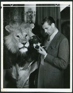 Gary Cooper Hollywood Actor, Classic Hollywood, Frank James, Film World, Gary Cooper, African Safari, Dream Guy, Actors & Actresses, Animals