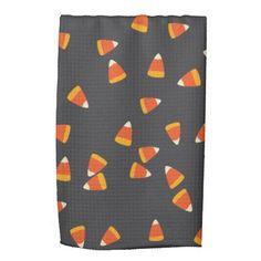 Candy Corn Kitchen Towel