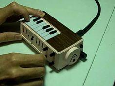 circuit bent mini keyboard