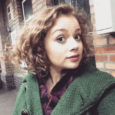 At 2:30pm today I chopped off 17 inches of my hair for The Little Princess Trust and so far I've raised almost 13K for GOSHCC! Please keep sharing and donating! Justgiving.com/CarrieHopeFletcher    Hair had dried and is big and curly now and I'm ecstatic!
