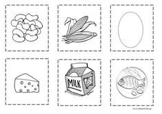 www.kidsactivities.gr Coloring Pages For Kids, Grade 1, Eating Habits, Healthy Eating, Nutrition, Diet, Game, Cards, Pictures