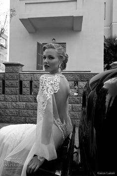 galia lahav wedding couture line 2012 open back bridal gown