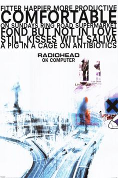 Radiohead Poster - OK Copmputer at AllPosters.com