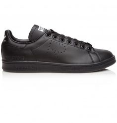 ADIDAS RAF SIMONS STAN SMITH. Black. £225.00