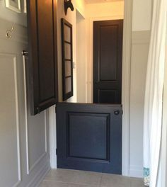 DIY Dutch Door. What A Great Way To Add Farmhouse Style To Your Home.