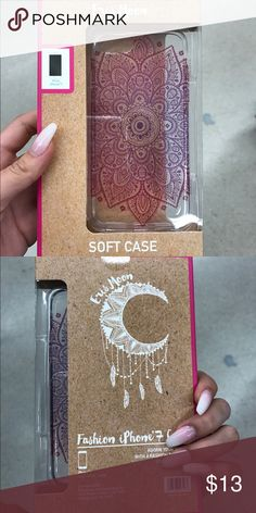 Elvis Moon phone case Henna based phone case. Fit for iPhone 7 Elvis Moon Accessories Phone Cases