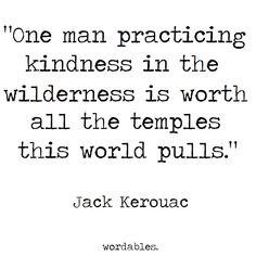 jack kerouac kindness