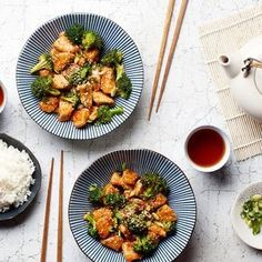 Forget takeout, our 22–minute sesame chicken is lighter, fresher, and just as fast as your local delivery joint. #cookingwithcurlsrecipes
