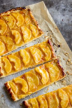 Maybe the easiest apple tart recipe ever...