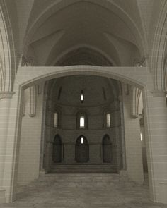 Recreación 3D de la iglesia de San Pedro de la Rua con la altura actual de la nave central. 3d, Home Decor, Contemporary Architecture, Decoration Home, Room Decor, Home Interior Design, Home Decoration, Interior Design