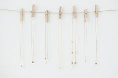 DIY Delicate Jewelry Storage diy craft craft ideas diy ideas diy crafts do it yourself crafty diy storage jewelry storage Necklace Storage, Jewellery Storage, Jewelry Organization, Jewellery Display, Diy Jewelry, Jewelery, Jewelry Holder, Fashion Jewelry, Diy Necklace Holder