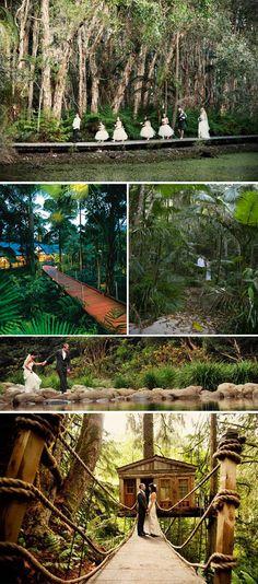 Rain forest weddings thanks to Jet Fete!