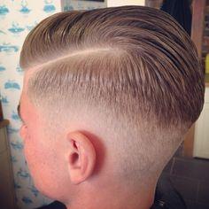 Hair. Barbers. Fade.
