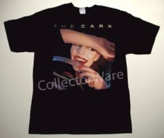 THE CARS The Cars CUSTOM ART UNIQUE T-SHIRT Each T-shirt is individually hand-painted, a true and unique work of art indeed!  To order this, or design your own custom T-shirt, please contact us at info@collectorware.com, or visit http://www.collectorware.com/tees-the_cars_andrelated.htm
