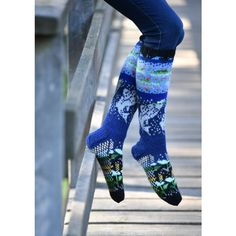 Kala kirjoneulesukat teetee Pallas   teetee SHOP Knitting Patterns, Villa, Pants, Shopping, Fashion, Trouser Pants, Moda, Knit Patterns, Fashion Styles