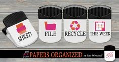 How to Organize Paper - Use These great ONE Clips! | Organize 365