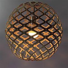 12W Lampe suspendue , Rétro Autres Fonctionnalité for LED Bois/BambouSalle de séjour / Chambre à coucher / Salle à manger / de 4977569 2016 à €61.00
