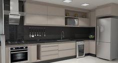 Free Image on Pixabay - Kitchen, Render - Modern Kitchen Parallel Kitchen Design, Kitchen Design Open, Luxury Kitchen Design, Interior Design Kitchen, Modern Kitchen Renovation, Modern Kitchen Interiors, Kitchen Decorating, Home Decor Kitchen, Kitchen Cupboard Designs