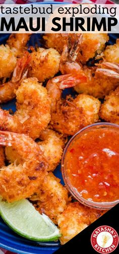 Maui Shrimp Are Amazingly Tasty Coconut Shrimp Are Crisp On The Outside With Succulent Juicy Shrimp Inside. Try not to Skip The Simple 2 Ingredient Coconut Shrimp Sauce And The Fresh Squeeze Of Lime Juice. Seafood Diet, Healthiest Seafood, Seafood Recipes, Appetizer Recipes, Cooking Recipes, Seafood Appetizers, Simple Shrimp Recipes, Seafood Meals, Shrimp Dishes
