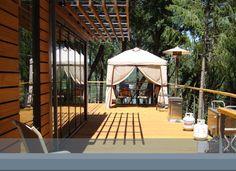 Lotus Lake House  vacation rental near rollins lake  uber cool