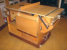 Homemade Table Saw (from scratch/plans) --->  http://woodgears.ca/reader/hector/tablesaw.html